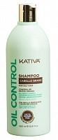 Шампунь для жирных волос Контроль / OIL CONTROL 500 мл, KATIVA