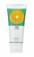Пенка очищающая освежающая с цитроном для лица Дэйли Фреш / Daily Fresh Citron Cleansing Foam 150 мл, HOLIKA HOLIKA