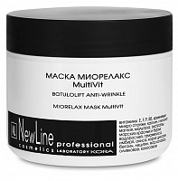 Маска миорелакс / MultiVit 300 мл, NEW LINE PROFESSIONAL