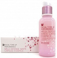 Эссенция для лица / MELA DEFENSE WHITE CAPSULE ESSENCE 50 мл, MIZON