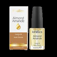 Масло увлажняющее кутикулу и ногтевую пластину Миндаль / Almond 15 мл, KINETICS