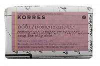 Мыло для жирной кожи, гранат 125 г, KORRES