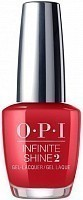 Лак для ногтей / Big Apple Red Infinite Shine 15 мл, OPI