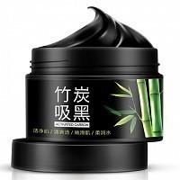Маска на основе бамбукового угля для очищения пор / Activated Carbon 140 г, BIOAQUA