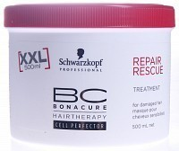 Маска Спасительное восстановление / BC REPAIR RESCUE BIOMIMETIC 500 мл, SCHWARZKOPF PROFESSIONAL
