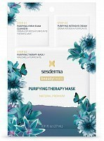 Маска очищающая для лица, 3 шага / BEAUTY TREATS Purifying therapy mask 27 мл, SESDERMA