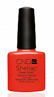 90514 покрытие гелевое / Electric Orange SHELLAC 7,3 мл, CND