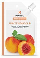 Маска-скраб для лица / BEAUTY TREATS Apricot sugar scrub mask 25 мл, SESDERMA