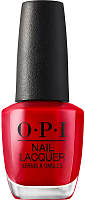 Лак для ногтей / Big Apple Red NEW YORK CITY 15 мл, OPI