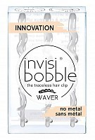 Заколка для волос / WAVER Crystal Clear, INVISIBOBBLE