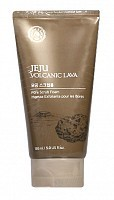 Пена-скраб с вулканическим пеплом / Jeju Volcanic Lava Scrub Foam 100 мл, THE FACE SHOP