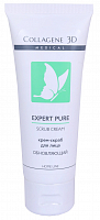 Крем-скраб для лица / EXPERT PURE GEL EXFOLIANT 75 мл, MEDICAL COLLAGENE 3D