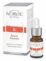 Сыворотка с ретинолом и витамином С для лица / Retinol & Vitamin C Rejuvenating serum 10 мл, NOREL Dr. Wilsz