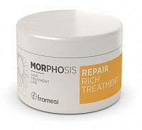 Маска восстанавливающая интенсивного действия для волос / MORPHOSIS REPAIR RICH TREATMENT 200 мл, FRAMESI