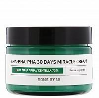 Крем с AHA/BHA/PHA кислотами для проблемной кожи 60 г, SOME BY MI