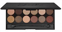 Палетка теней для век 429, 12 тонов / All Night Long Eyeshadow Palette I-Divine 119 г, SLEEK MakeUP