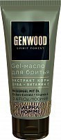 Гель-масло для бритья / GENWOOD Gel 100 мл, ESTEL PROFESSIONAL
