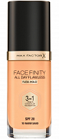 Основа тональная 70 / Facefinity All Day Flawless 3-in-1 warm sand 30 мл, MAX FACTOR