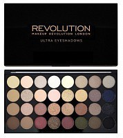 Палетка теней для век / 32 ULTRA EYESHADOWS Flawless, MAKEUP REVOLUTION