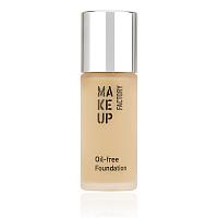 Крем тональный матовый для нормальной и жирной кожи, 08 сатиновая кожа / Oil-free Foundation, MAKE UP FACTORY
