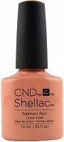 90783 покрытие гелевое / Salmon Run SHELLAC 7,3 мл, CND