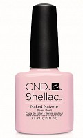 90857 покрытие гелевое / Naked Naivete SHELLAC Contradictions 7,3 мл, CND