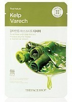 Маска для лица / Real Nature Mask Sheet Kelp, THE FACE SHOP