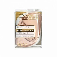 Расческа для волос / Compact Styler Rose Gold Luxe, TANGLE TEEZER