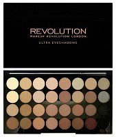 Палетка теней для век / 32 ULTRA EYESHADOWS Beyond Flawless, MAKEUP REVOLUTION