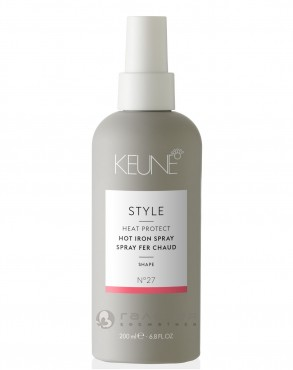 Спрей для укладки утюжками / STYLE HOT IRON SPRAY 200 мл, KEUNE
