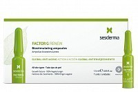 Средство биостимулирующее для лица, в ампулах / FACTOR G RENEW Biostimulating ampoules 7*1,5 мл, SESDERMA