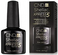 Покрытие верхнее / Xpress5 Top Coat SHELLAC 7,3 мл, CND