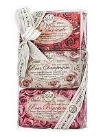 Набор мыла для тела Роза / Rosa Gift Kit 3*150 г, NESTI DANTE