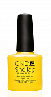 90513 покрытие гелевое / Bicycle Yellow SHELLAC 7,3 мл, CND